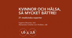Ortoped-Stockholm-Ortho-Human-medverkar i bok-kvinnors hälsa